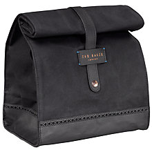Buy Ted Baker Cooler Bag, Black Online at johnlewis.com