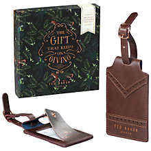 Buy Ted Baker Luggage Tags, Set of 2 Online at johnlewis.com