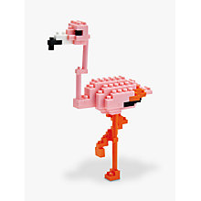 Buy Nanoblock Flamingo Online at johnlewis.com