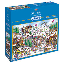 Buy Gibsons Off Piste 1000 Piece Jigsaw Puzzle Online at johnlewis.com