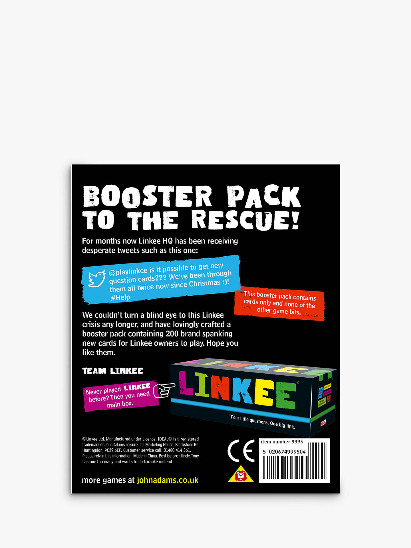 BuyLinkee Booster Pack Online at johnlewis.com