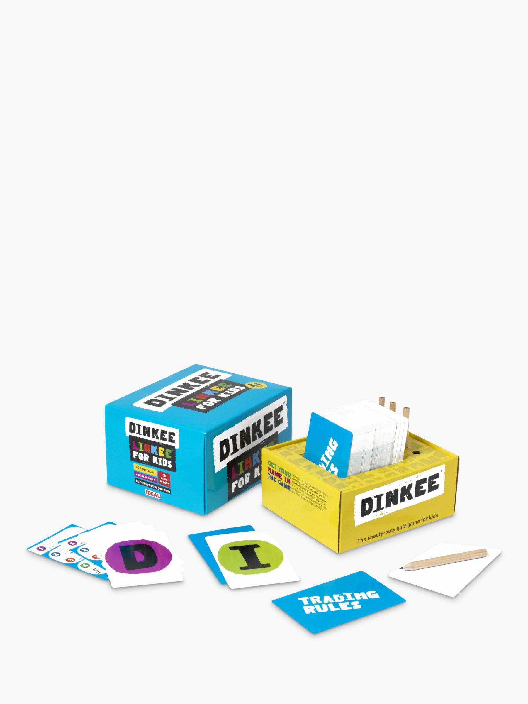 Ideal Games Dinkee Linkee Trivia Game
