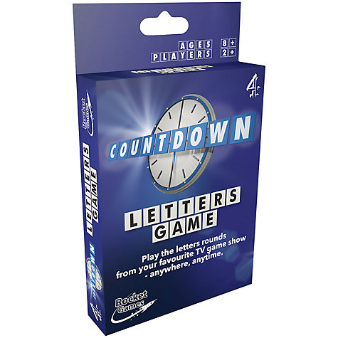 buy countdown letters game online at johnlewiscom