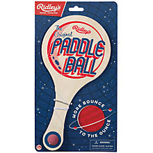 Buy Ridley's Paddle Ball Online at johnlewis.com