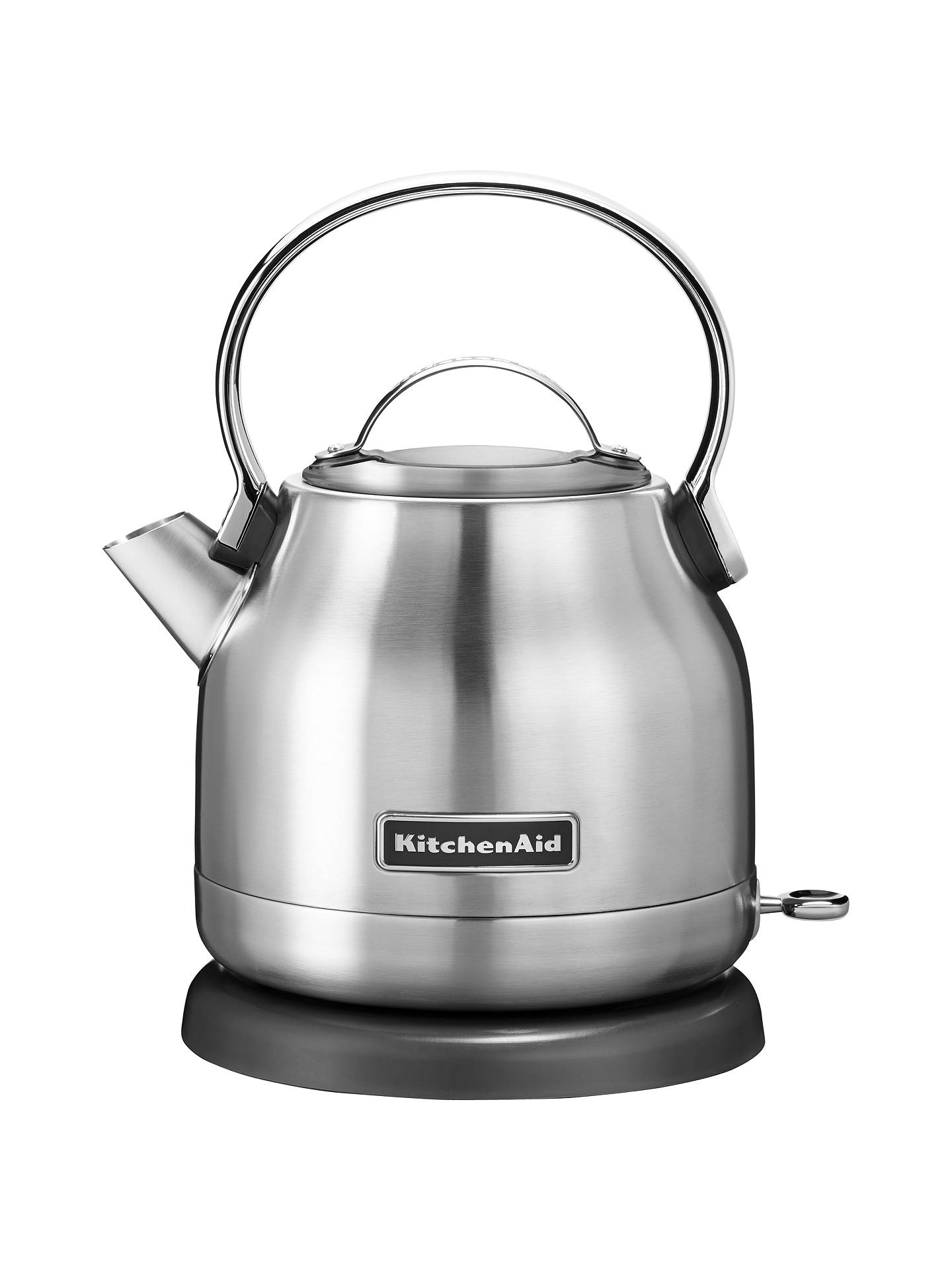 BuyKitchenaid Artisan 1.25L Kettle, Stainless Steel Online at johnlewis.com