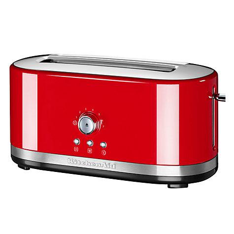 Buy KitchenAid Manual Control Long Slot 4 Slice Toaster Online At  Johnlewis.com ...