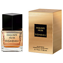 Buy Yves Saint Laurent Oriental Collection Exquisite Musk Eau de Parfum, 80ml Online at johnlewis.com