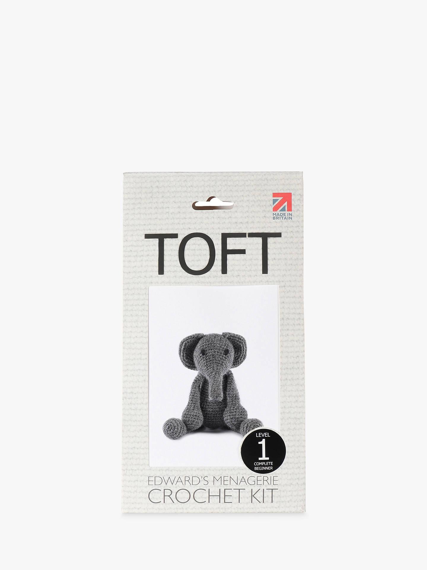 TOFT Bridget the Elephant Crochet Kit