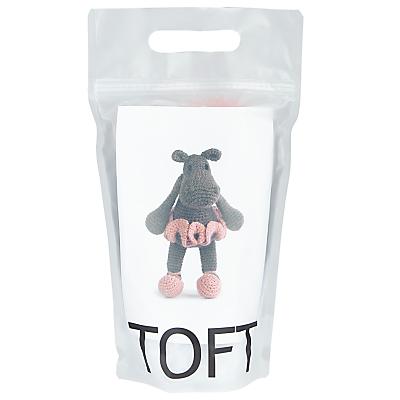 Product photo of Toft georgina the hippo crochet kit