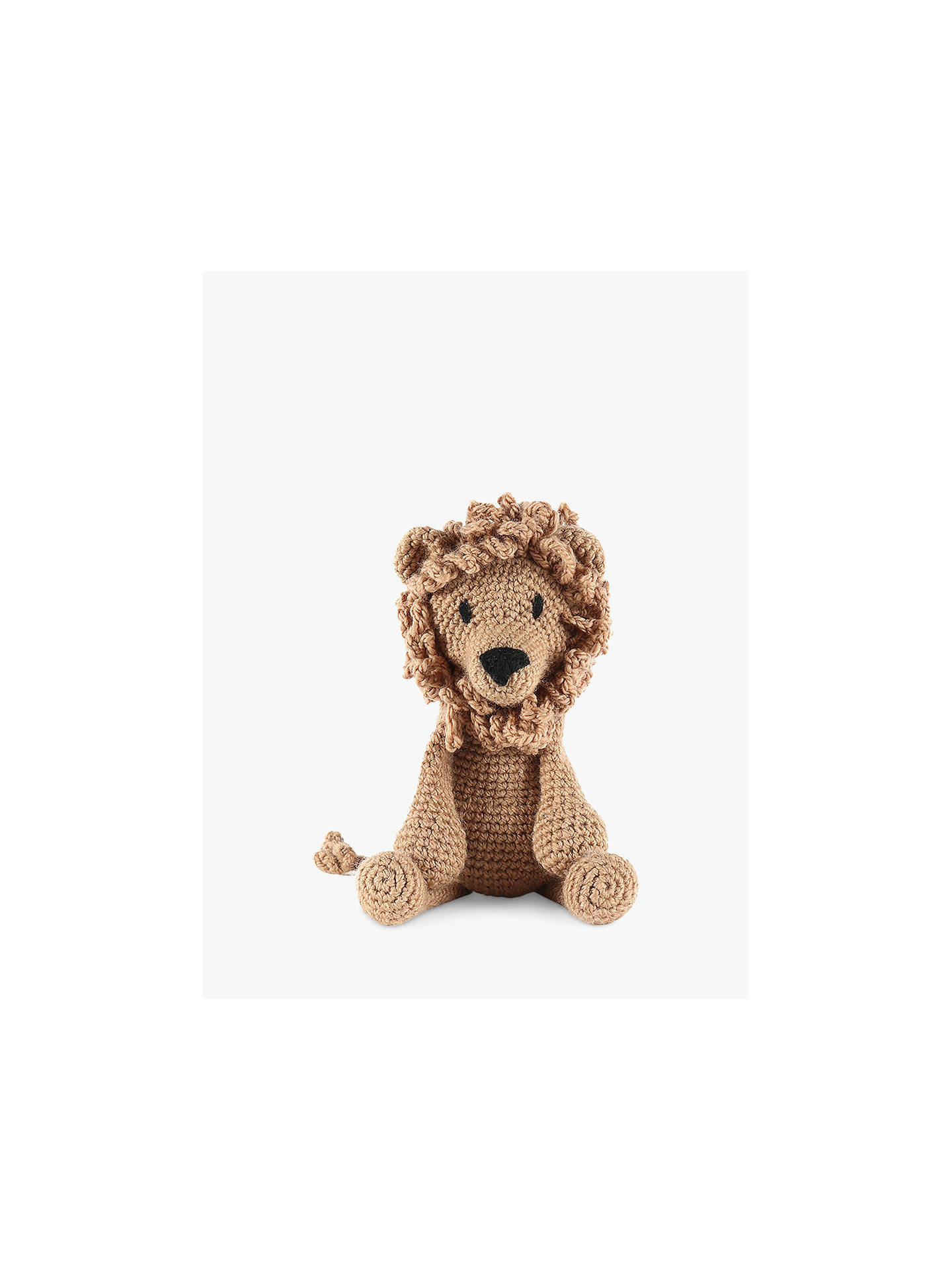 TOFT Rufus the Lion Crochet Kit
