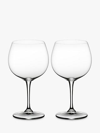 Riedel Vinum Oaked Chardonnay Wine Glass, Clear, Set of 2