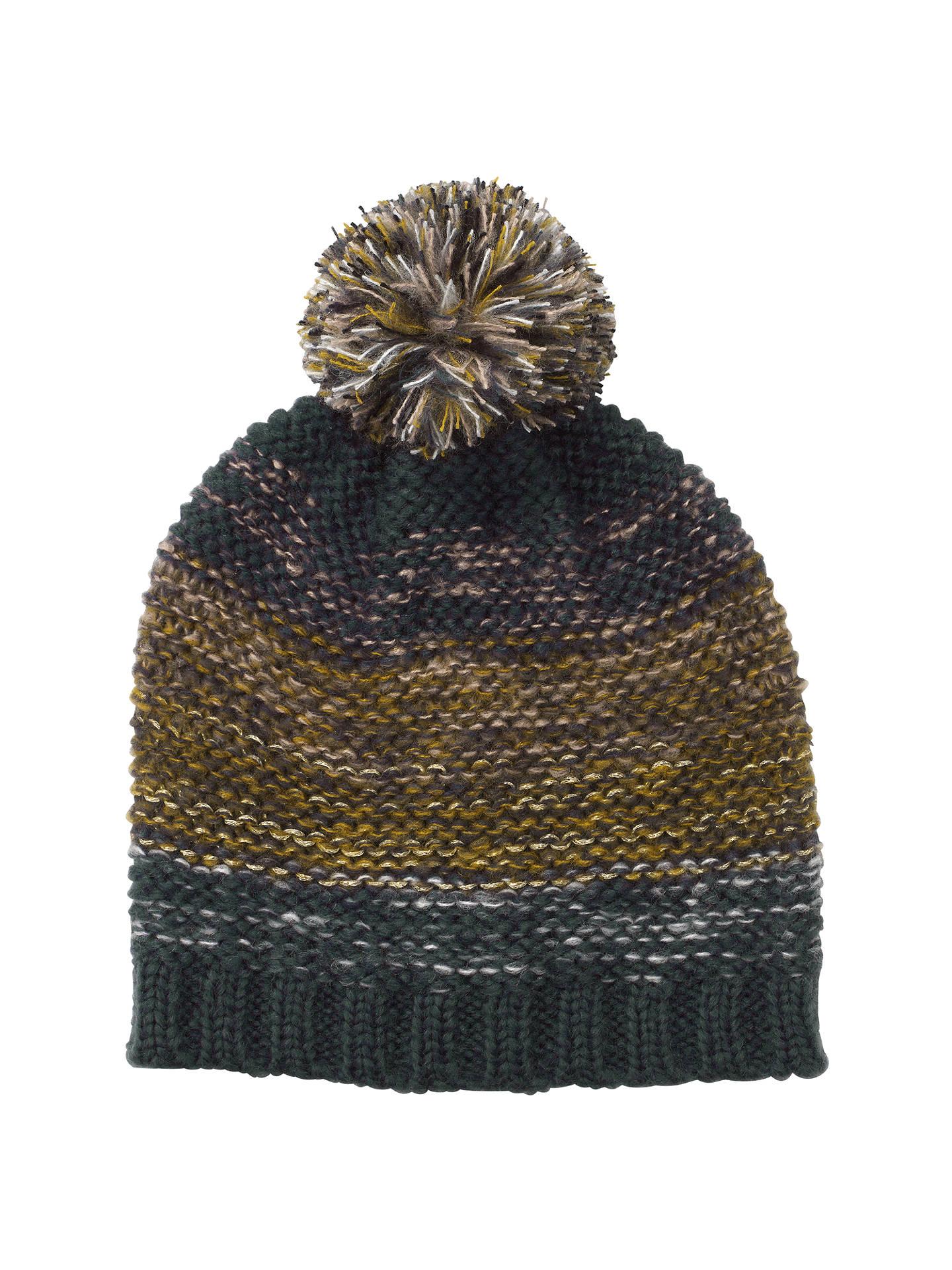 15830e57a6b BuyJohn Lewis Nordic Sky Pom Pom Beanie Hat