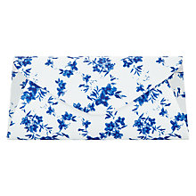 Buy Phase Eight Flower Print Clutch Bag, White/Blue Online at johnlewis.com