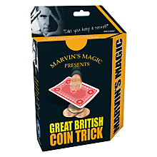 Buy Marvin's Magic Great British Coin Trick Pack Online at johnlewis.com