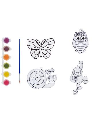 John Lewis & Partners Paint Your Own Sun Catchers Kit