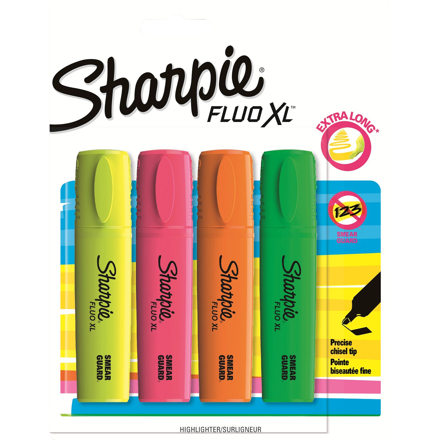 Sharpie Sharpie Highlighters, Pack of 4