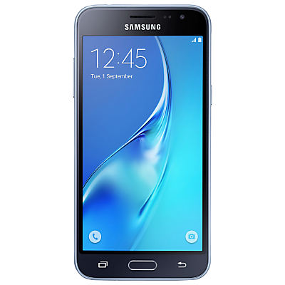 Samsung Galaxy J3 Smartphone, Android, 5, 4G LTE, SIM Free, 8GB