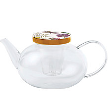 Buy Wedgwood Elegant Townhouse Tea Garden Glass Teapot Online at johnlewis.com