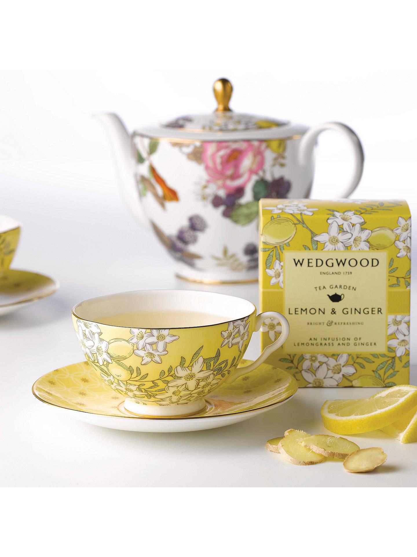 Wedgwood Tea Garden Lemon And Ginger