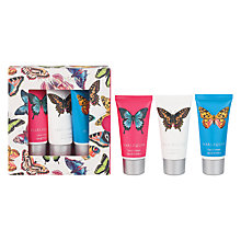 Buy Harlequin Papilio Hand Cream Gift Set, 3x 30ml Online at johnlewis.com