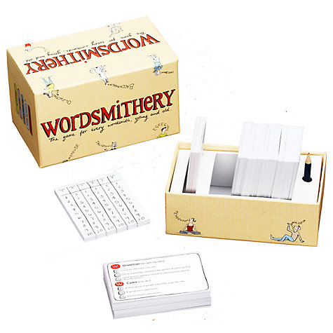 Buy Clarendon Games Wordsmithery Game Online at johnlewis.com