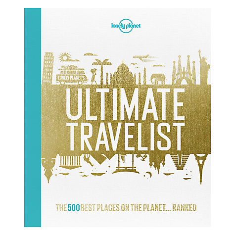 Buy Lonely Planet's Ultimate Travelist Book Online at johnlewis.com