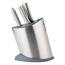 Buy Global NI Series 6 Piece Knife Block Set Online at johnlewis.com