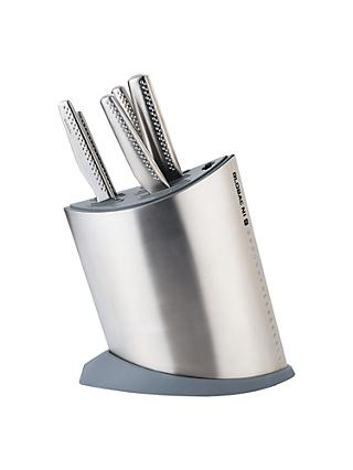 Global NI Series 6 Piece Knife Block Set