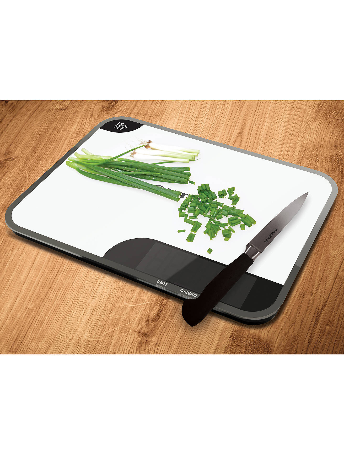 BuySalter Max Chopping Board Digital Kitchen Scale Online at johnlewis.com
