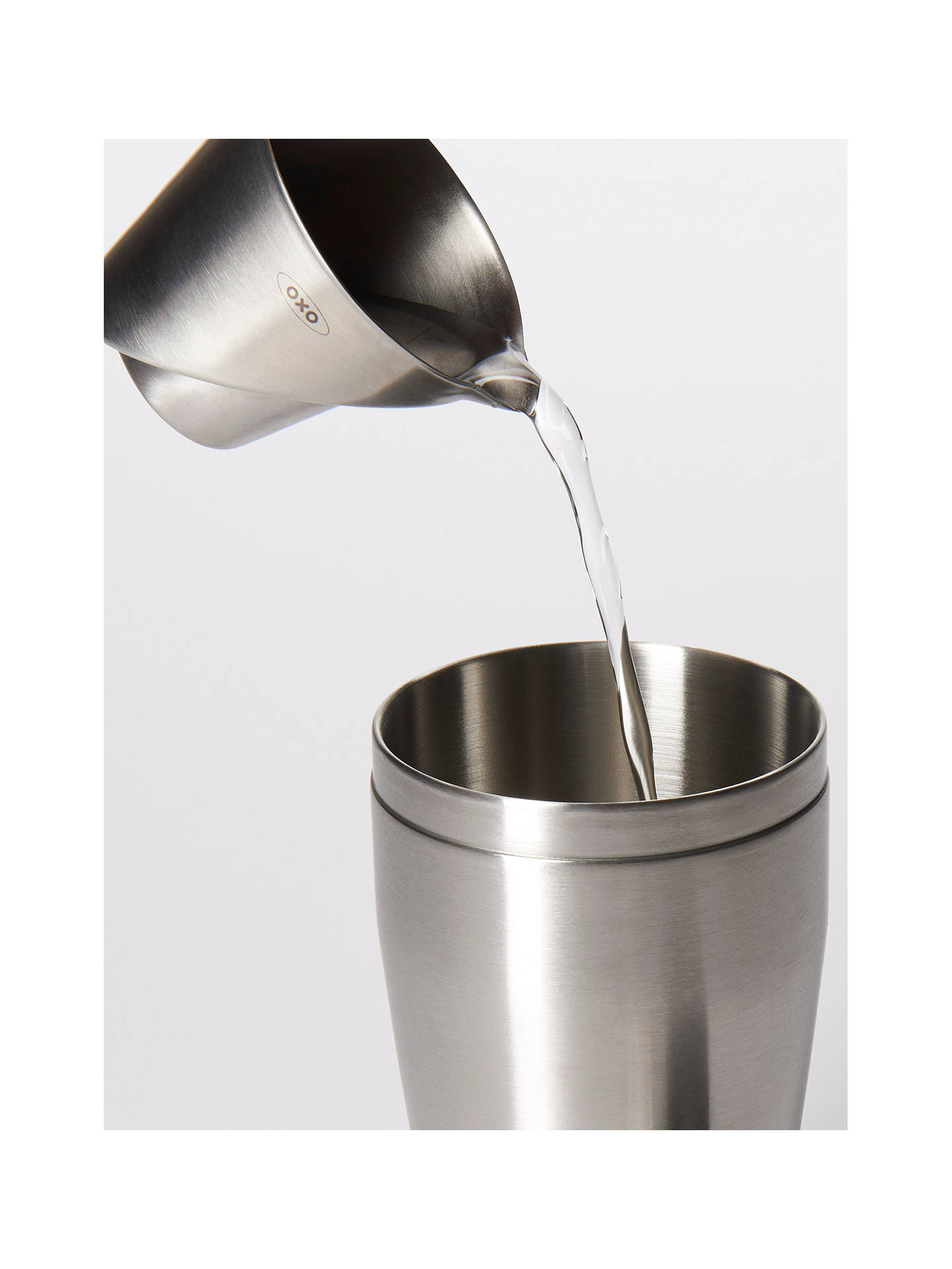 BuyOXO  Steel Angled Jigger Online at johnlewis.com