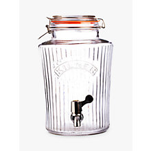 Buy Kilner Vintage Drinks Dispenser, 8L Online at johnlewis.com