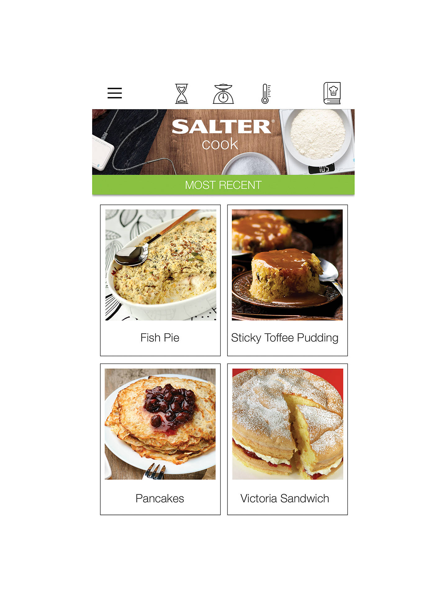 BuySalter Cook Pro Bluetooth Recipe Scale Online at johnlewis.com