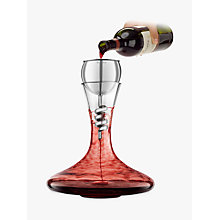 Buy Final Touch Stainless Steel Twister Aerator and Decanter Online at johnlewis.com