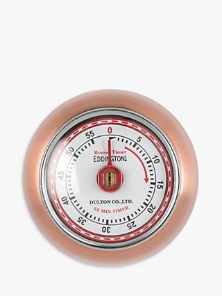 Eddingtons Retro Kitchen Timer Copper