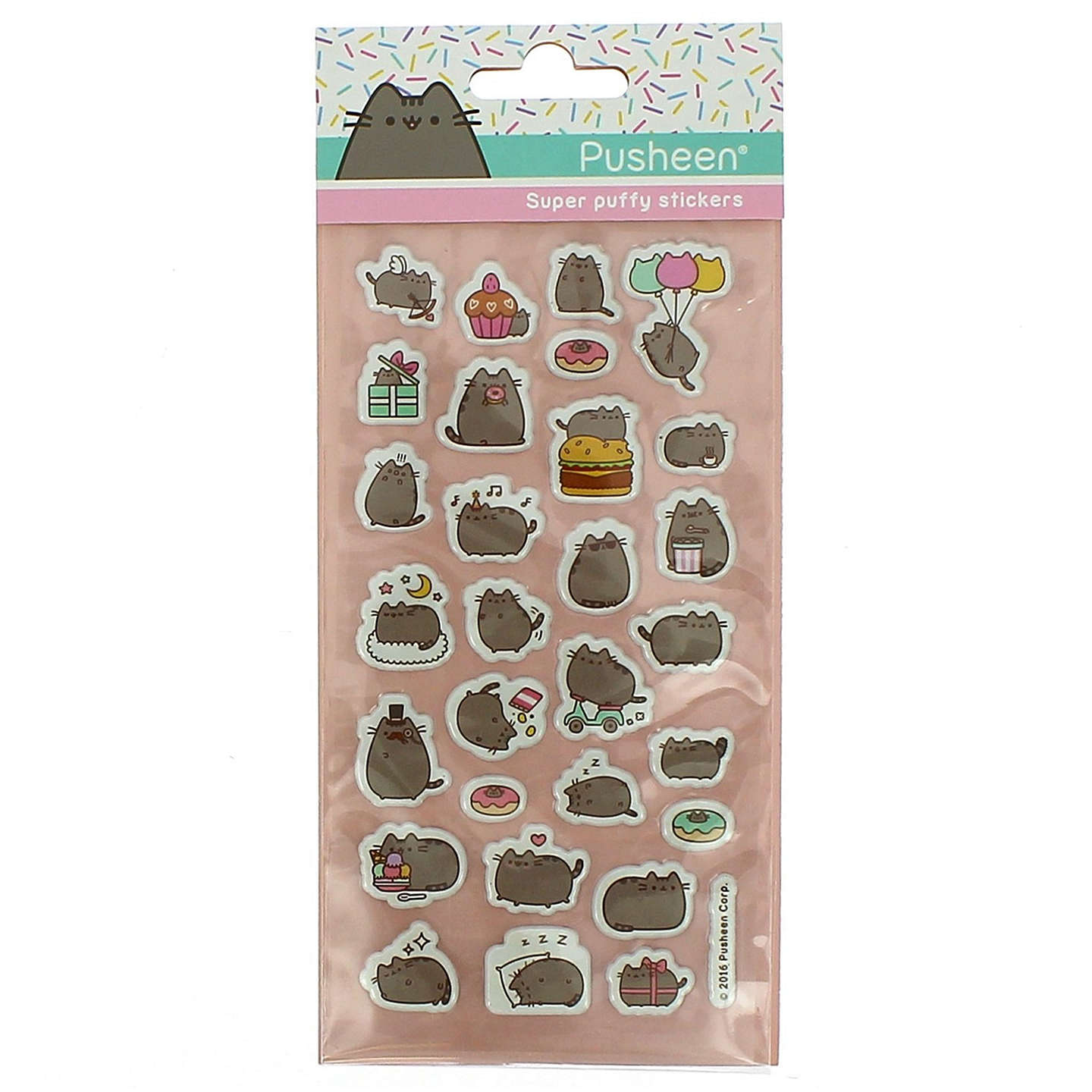 BuyPusheen Stickers Online at johnlewis.com