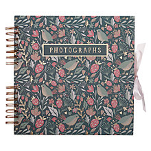 Buy Art File Wild Berry Square Photo Album Online at johnlewis.com