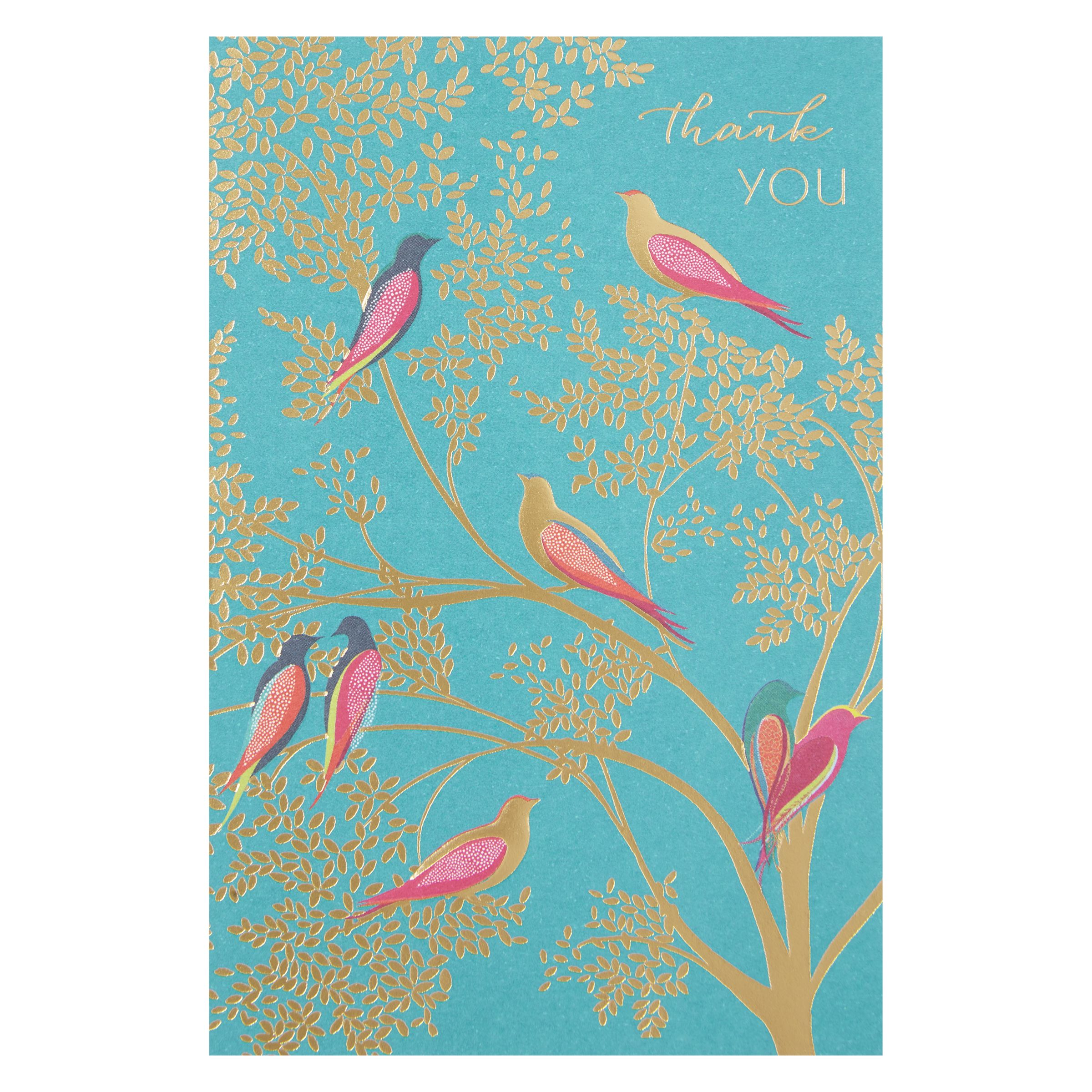 Art File Art File Birds Thank You Notecards, Pack of 10