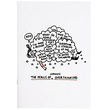 Buy Gemma Correll Overthinking A4 Notebook Online at johnlewis.com
