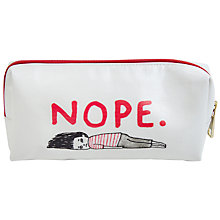 Buy Gemma Correll Nope Pencil Case Online at johnlewis.com