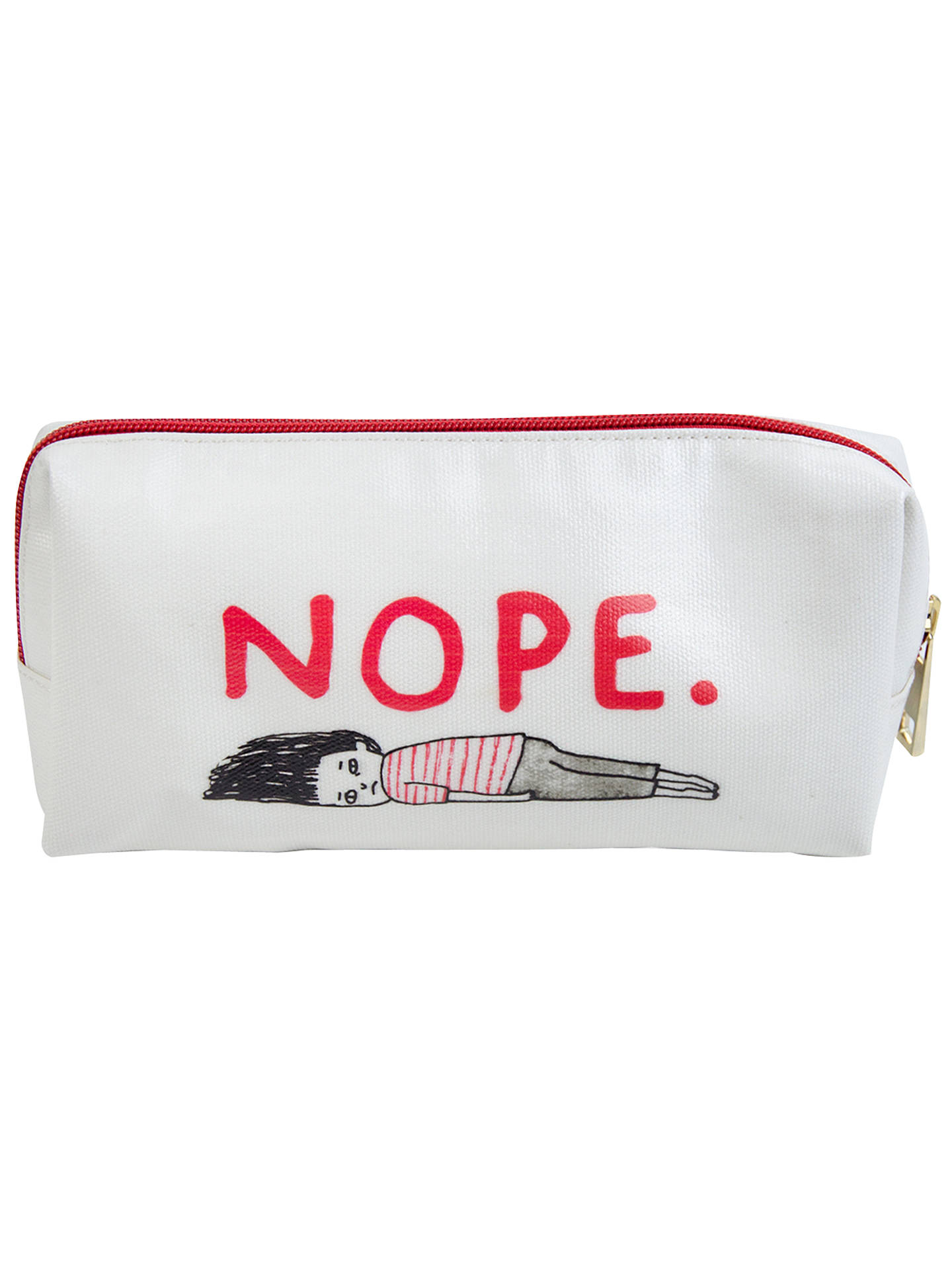 BuyGemma Correll Nope Pencil Case Online at johnlewis.com