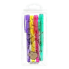 Buy Pusheen Gel Pens, Pack of 4 Online at johnlewis.com