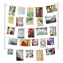 Buy Umbra Hangit Photo Display, White Online at johnlewis.com