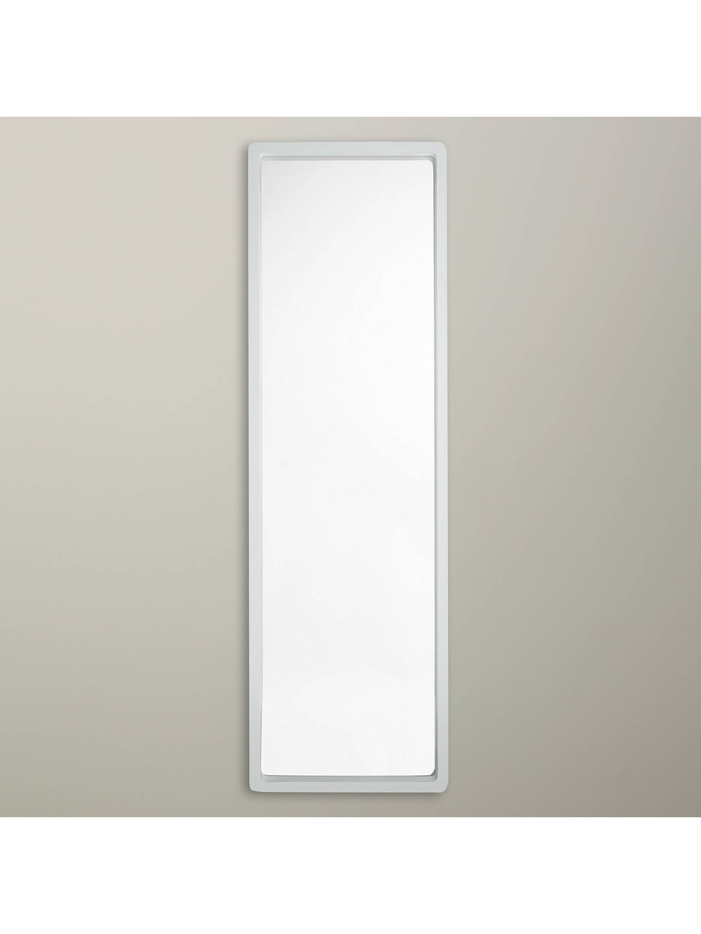 House By John Lewis Rounded Full Length Mirror 140 X 40cm
