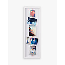 Buy Umbra Clothesline Multi-aperture Photo Frame Online at johnlewis.com