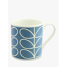 Buy Orla Kiely Linear Stem Large Mug Online at johnlewis.com
