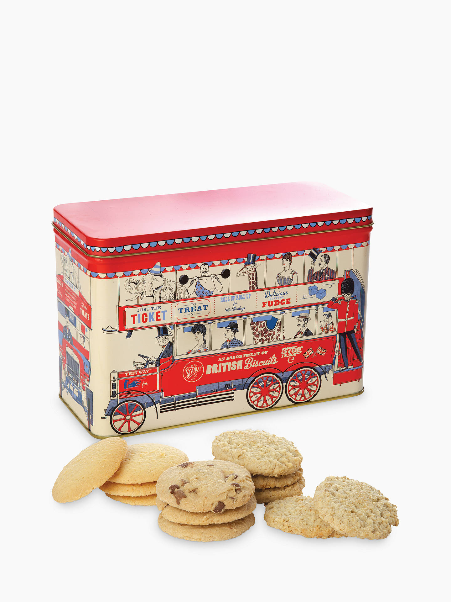 BuyMr Stanley's London Bus Assorted Biscuits Online at johnlewis.com