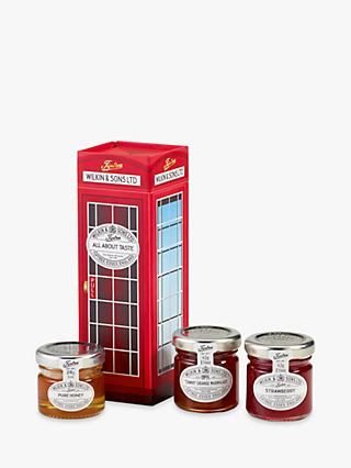 Tiptree Phone Box All About Taste Preserve Set