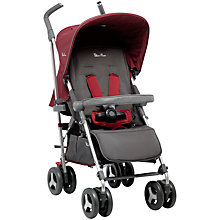 Buy Silver Cross Reflex Pushchair, Vintage Red Online at johnlewis.com