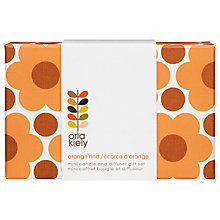 Buy Orla Kiely Orange Rind Gift Set, Mini Online at johnlewis.com