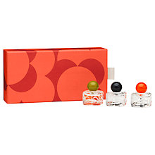 Buy Orla Kiely Flower Mini Fragrance Gift Set Online at johnlewis.com